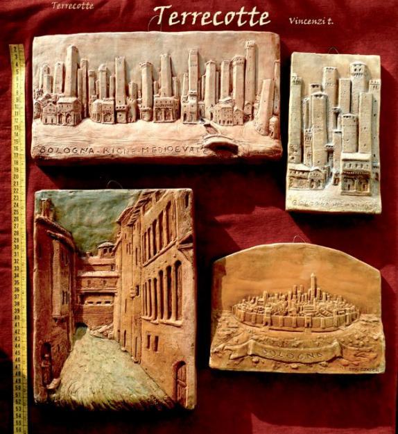 Famoso arte terracotta sculture in argilla LJ85