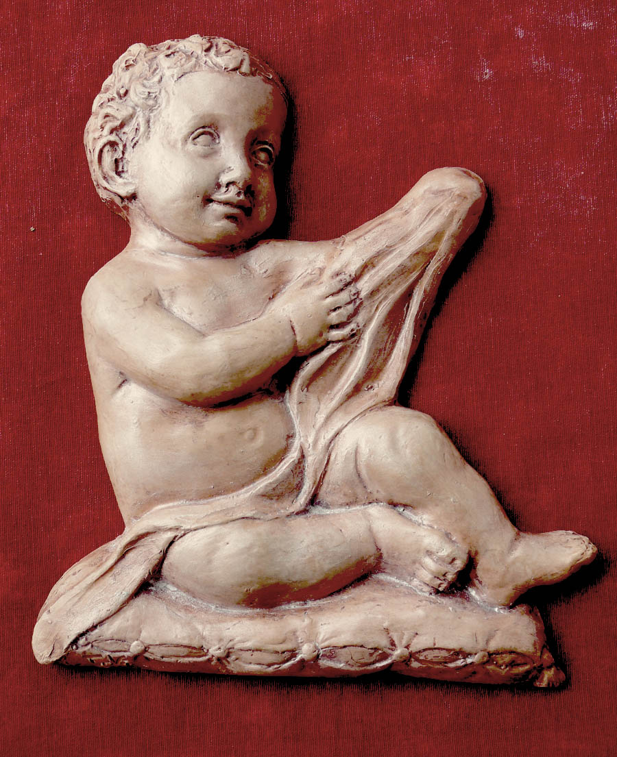 putto terracotta ceramica sculture arte